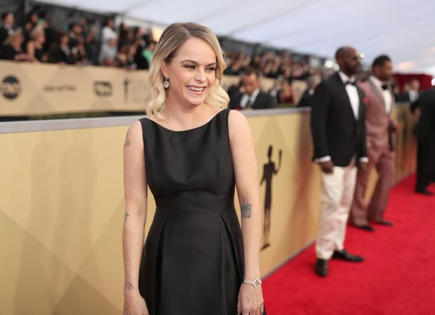 LOS ANGELES, CA - JANUARY 21: Taryn Manning attends the 24th Annual Screen Actors Guild Awards at The Shrine Auditorium on January 21, 2018 in Los Angeles, California. 27522_010 (Photo by Christopher Polk/Getty Images for Turner)