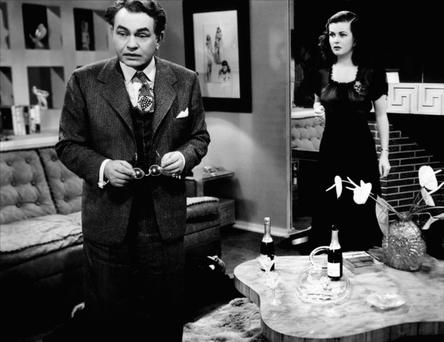 The main character in debut novelist AJ Finn's 'The Woman In The Window' is obsessed with the classic film of the same name, starring Edward G Robinson and Joan Bennett