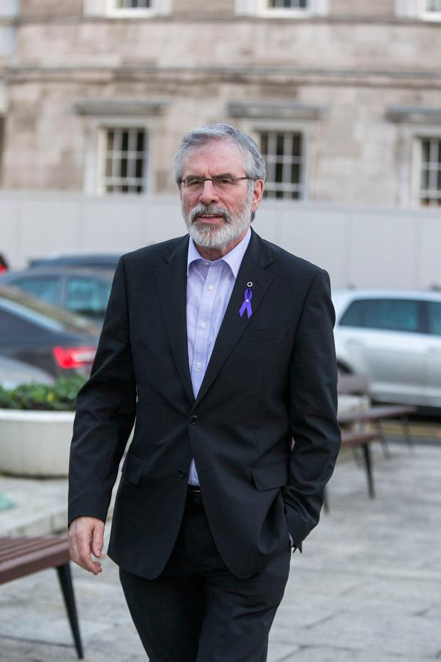 Gerry Adams. Photo: Colin O'Riordan