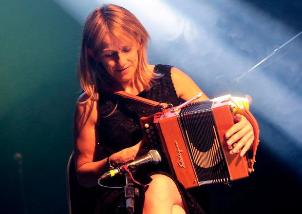 Sharon Shannon plays a New Year's Eve concert at the INEC at the Gleneagle Hotel, Killarney. Photo: Valerie O'Sullivan