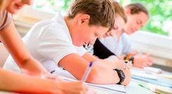 Childminders with no teaching experience are being used for classroom supervision because of chronic staff shortages. Stock Image