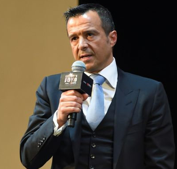 Portuguese football agent Jorge Mendes. Photo: Getty Images