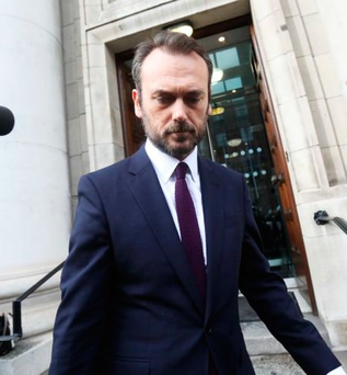 Gerry Mallon is to quit his job as Ulster Bank chief executive Photo: Leah Farrell / RollingNews.ie