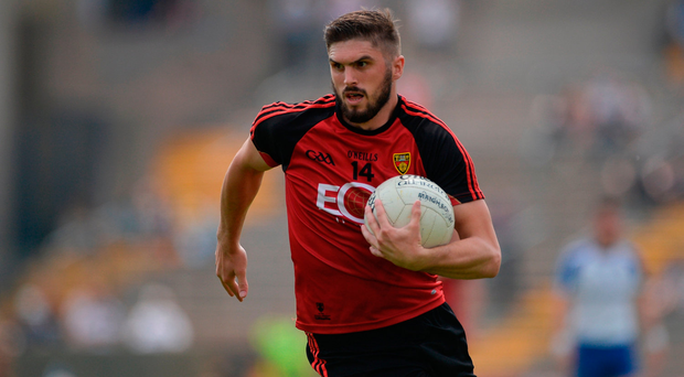 Harrison: His 1-3 haul proved decisive for Down in Drogheda. Photo by Daire Brennan/Sportsfile