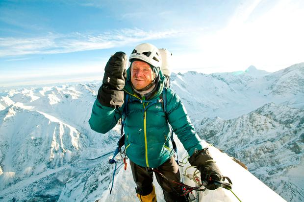 Tomasz Mackiewicz on the mountain in 2014 Photo: REUTERS