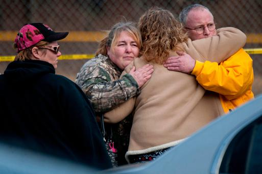 In the USA the shooting occurred at the vehicle wash: many dead