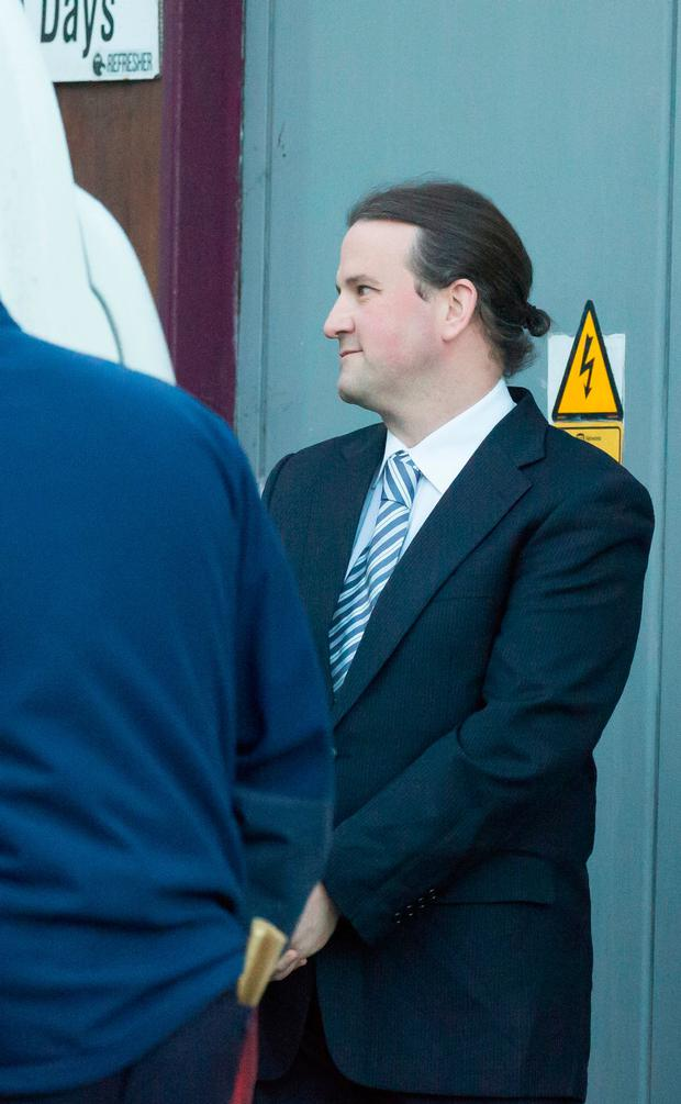 Graham Dwyer on a rare appearance out of jail in Dublin. Photo: Sunday World