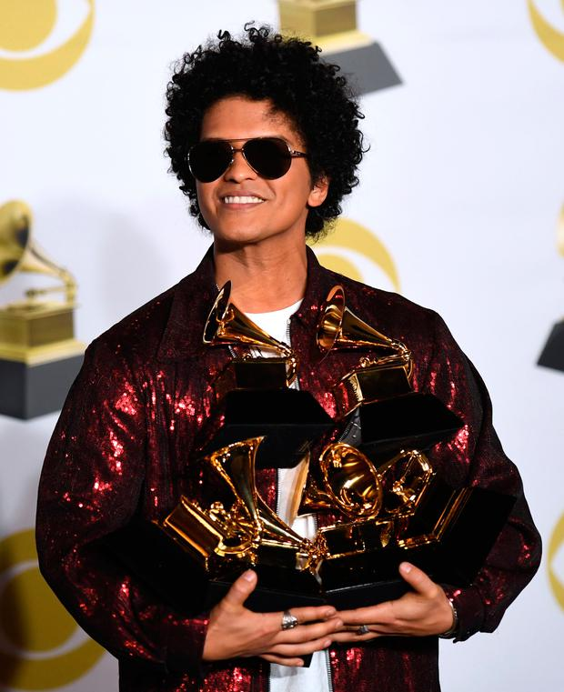 Bruno Mars. Photo: Getty Images