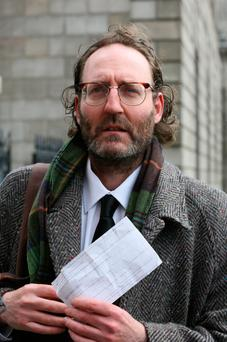 Comedian David McSavage is among those who object to the proposed hotel in Portobello, Dublin. Picture: Collins
