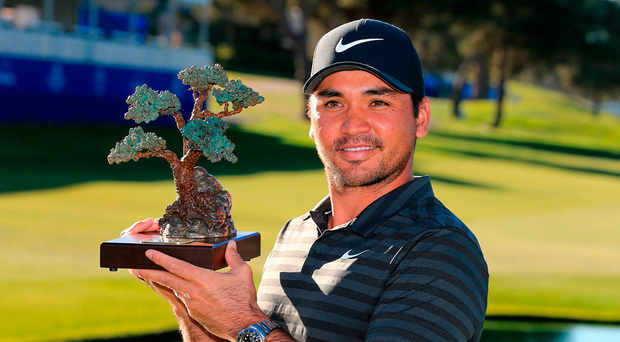 Jason Day required six extra holes to secure the Farmers Insurance Open title Photo: Getty