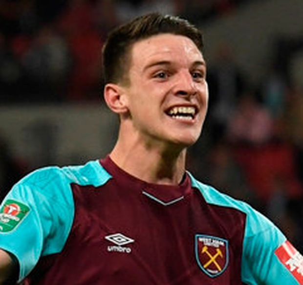 Declan Rice. Photo: Getty Images