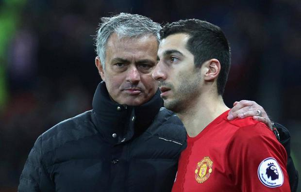 Henrikh Mkhitaryan admitted that he left Manchester United for Arsenal to play 'offensive football'. Getty