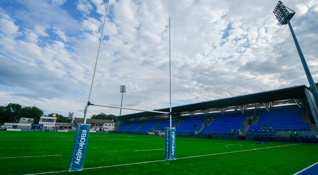25 August 2017; A general view of Donnybrook Stadium Photo by Ramsey Cardy/Sportsfile