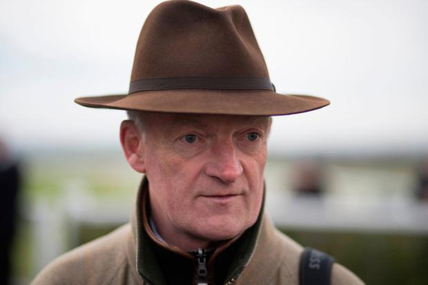 Trainer Willie Mullins. Photo: Patrick McCann