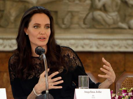Angelina Jolie was joint executive producer of 'The Breadwinner', which was one of the film projects backed by the BAI. Photo: AP