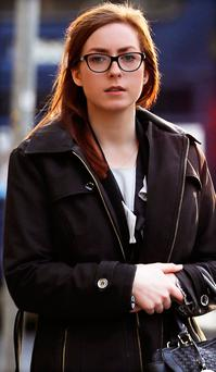Sarah Doupe was involved in an altercation with staff at Pearse Station, Dublin. Photo: Courtpix