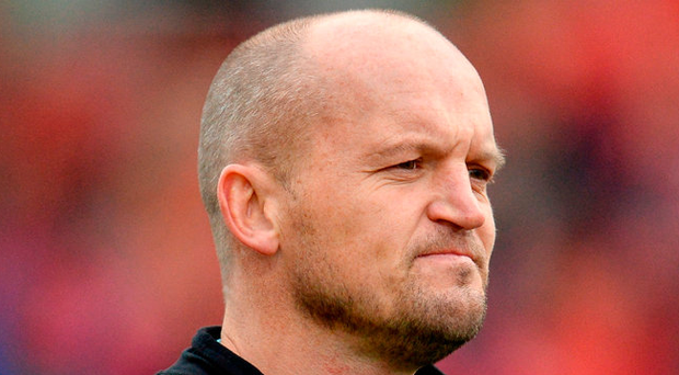 Scotland head coach Gregor Townsend. Photo: Sportsfile
