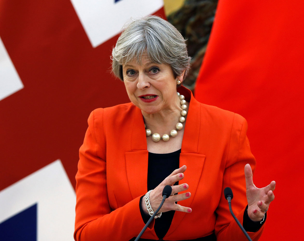 Prime Minister Theresa May has struggled to make an optimistic case for leaving the single market and customs union