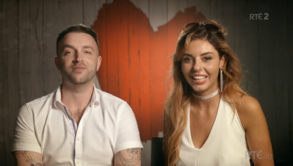 Phil Penny and Amy-Maria Dunne on First Dates Ireland