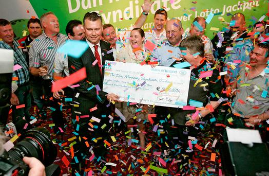 The Dan Morrissey Syndicated won a record-breaking €18.9 million in June 2008