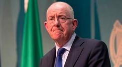Warning: Justice Minister Charlie Flanagan. Photo: Gareth Chaney, Collins