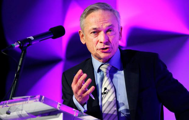 Education Minister Richard Bruton said his department spends €15m per year on broadband provision and internet connectivity for the country's schools