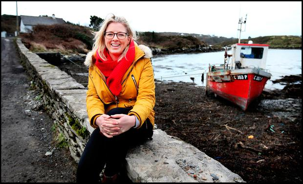 An open and supportive society: Aisling Moran, project development co ordinator for Sherkin Island. Photo: Steve Humphreys