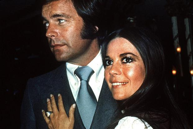 Robert Wagner and Natalie Wood, who married twice before her mysterious drowning off the California coast in 1981. Photo: AP
