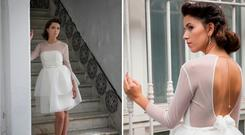 Wedding dresses by Dublin based designer Aida Silva