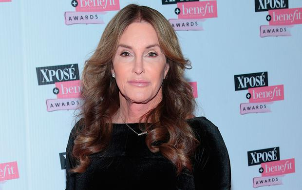 Caitlyn Jenner at the the inaugural Xposé Benefit Awards. Picture: Brian McEvoy