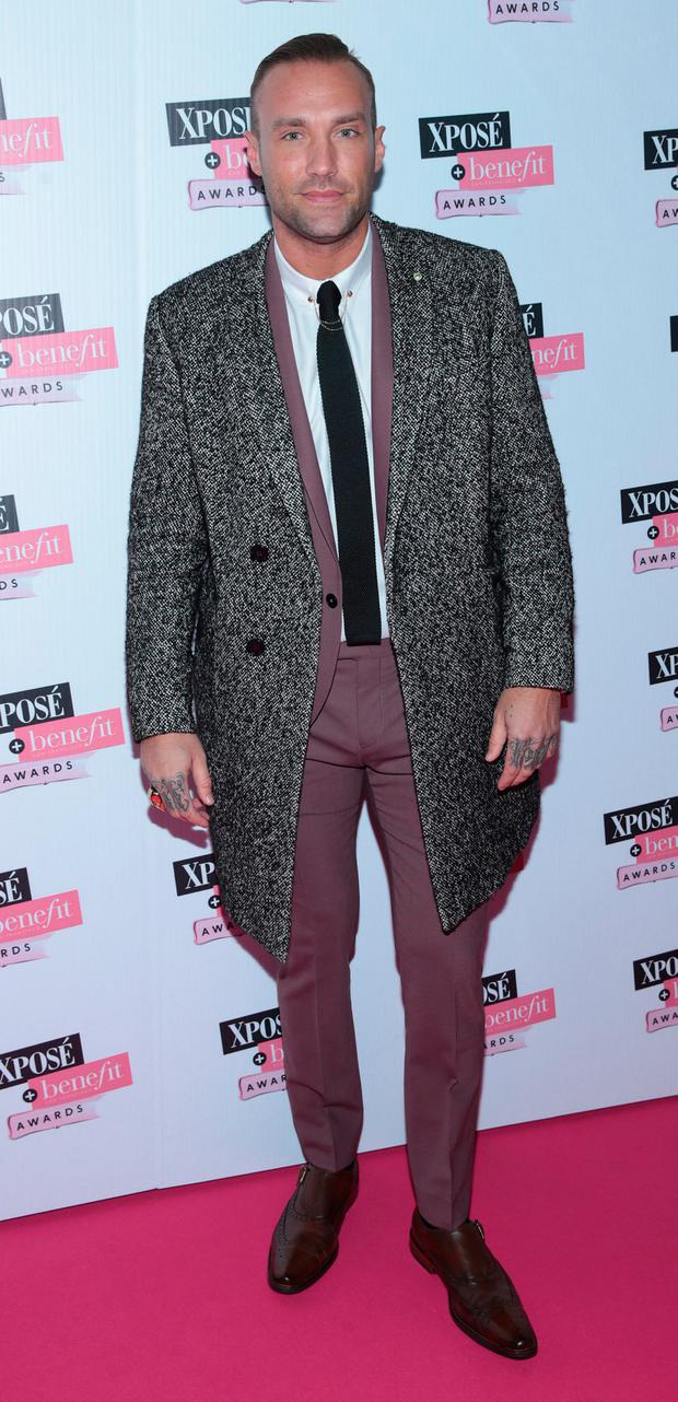Calum Best at the the inaugural Xposé Benefit Awards. Picture: Brian McEvoy