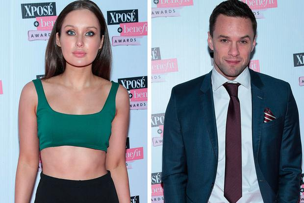 Roz Purcell, left, and Bressie, right