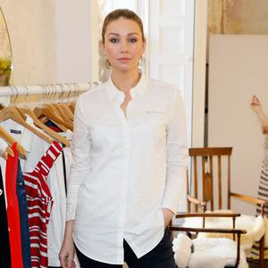 Anna Daly at the launch of Mint Velvet's new Spring/Summer 2018 collection at 23 Leinster Road. Picture: Kieran Harnett