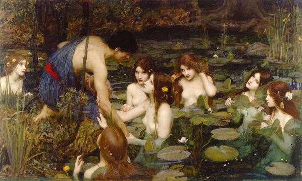 John William Waterhouse's Hylas and the Nymphs