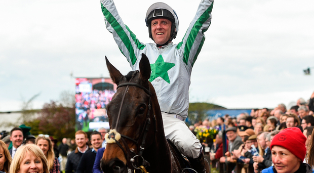 Our Duke, with Robbie Power on board, after winning last year's Irish Grand National. Photo: Sportsfile