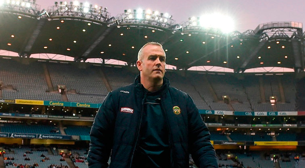 New Offaly hurling manager Kevin Martin will be hoping his charges can build on last Saturday's win over Dublin in Croke Park. Photo by Seb Daly/Sportsfile