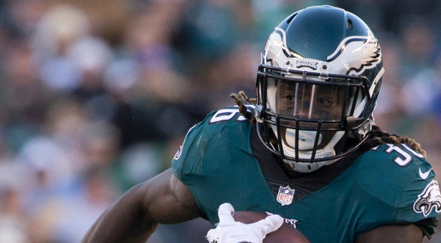 Philadelphia Eagles' Jay Ajayi got a wake-up call earlier this season when he was cut from the Miami Dolphins. Photo: Getty Images