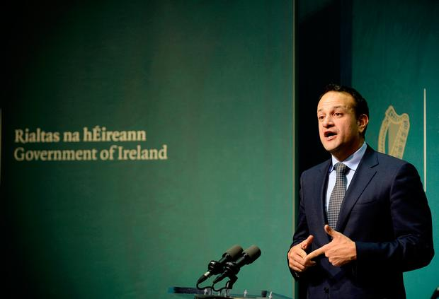 Leo Varadkar Photo: Caroline Quinn