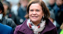 SF leader Mary Lou McDonald