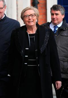Frances Fitzgerald TD at the Disclosures Tribunal in Dublin Castle Photo Gareth Chaney/Collins