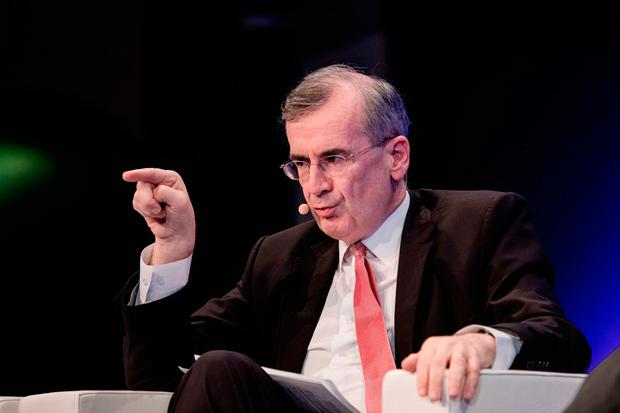 Francois Villeroy de Galhau, governor of the Bank of France. Photo: Bloomberg