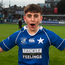 St Mary's College's Seán Bourke celebrates the victory. Photo: Sportsfile