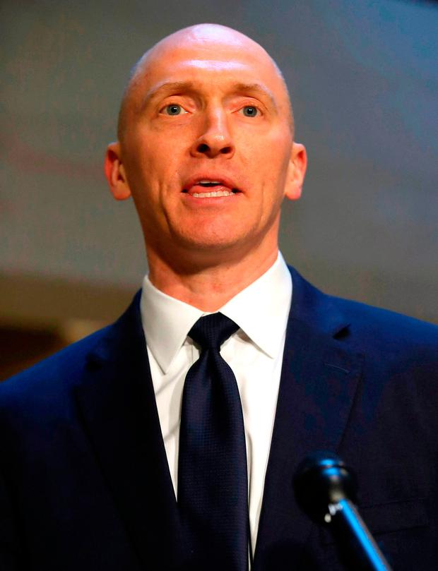 Trump campaign volunteer Carter Page