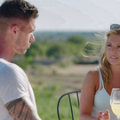 Adam and fellow contestant Zara Holland on Love Island