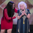 Evelyn Williams earns a Golden Buzzer through to the live shows on the first episode on Ireland's Got Talent