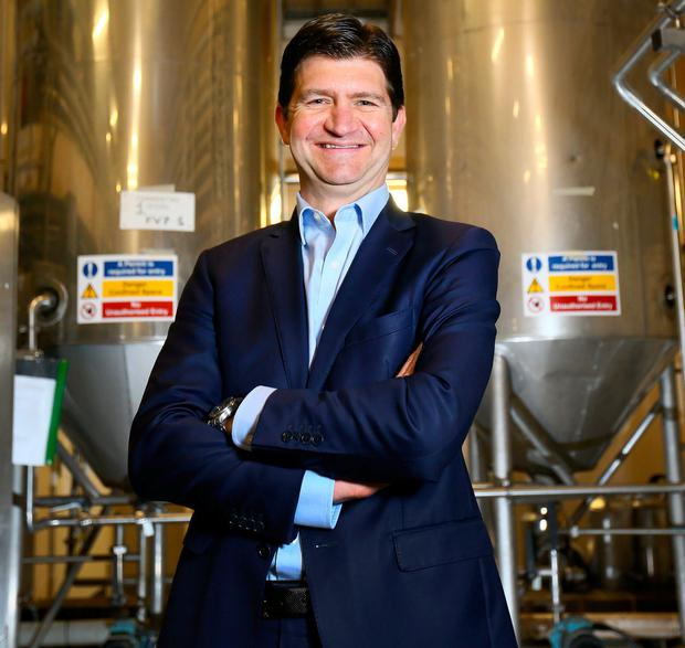 Ollie Loomes, country director of Diageo Ireland, at St James's Gate in Dublin. Photo: Frank McGrath