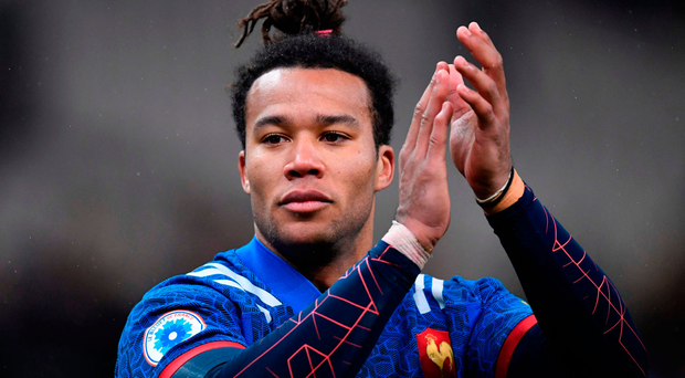 French try scorer Teddy Thomas. Photo: Getty Images