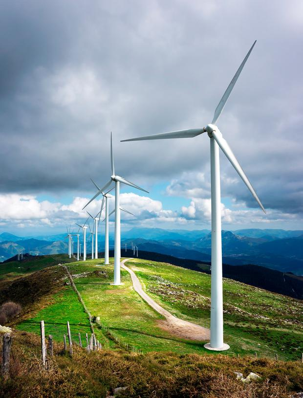 NTR's European wind business includes wind farm assets in Ireland and the UK