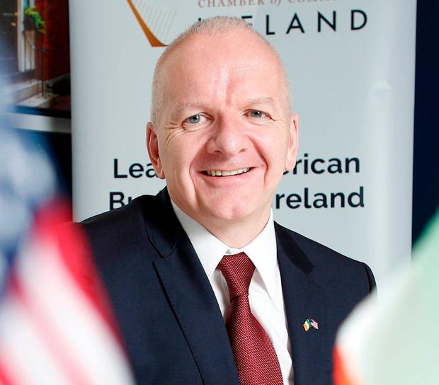 'Ireland is in a unique position at the heart of the EU-US relationship,' says Barry O'Sullivan. Photo: Conor McCabe Photography