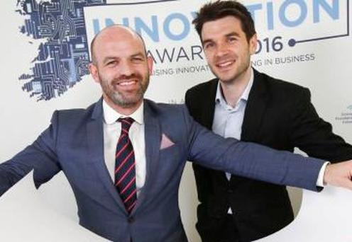 AID Tech co-founders CEO Joseph Thompson and chief operating officer Niall Dennehy